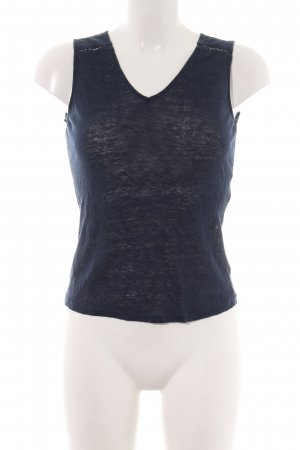 Naf naf Top lavorato a maglia blu stile casual
