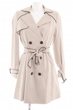 Naf naf Trenchcoat wollweiß Business-Look