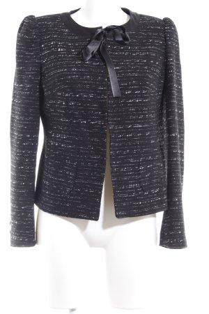 Naf naf Tweed blazer zwart-wit elegant