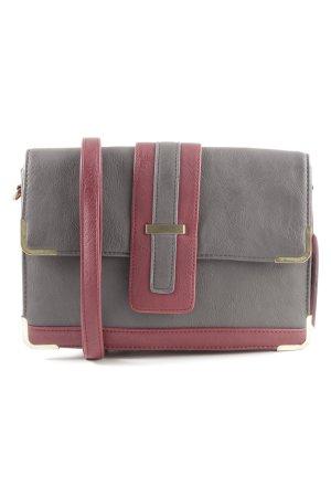 Naf naf Crossbody bag light grey-red casual look