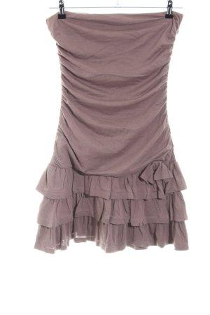 Naf naf Flounce Skirt brown casual look