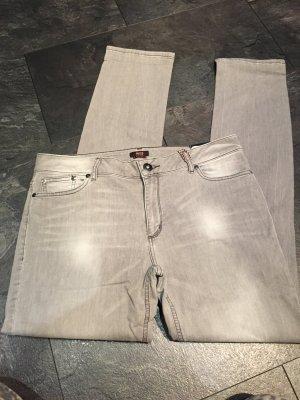 Nagel neue Jeans von his in grau
