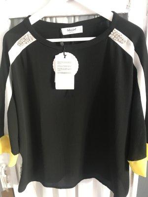Blumarine Sweater met korte mouwen veelkleurig