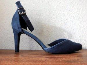 Nagelneu! Eleganter Schuh in taubenblau! Super Schnäppchen!