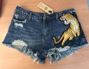 Nagelneu High Waist Jeansshorts