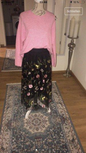 H&M Falda de tul multicolor