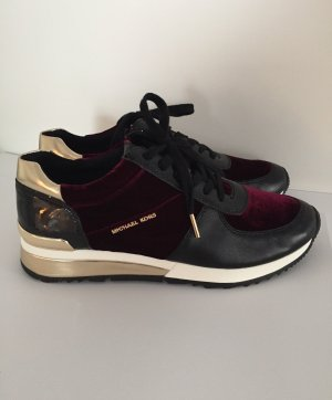 Nagelneu - Sneakers in Black/Bordeaux/Gold von Michael Kors (NP 175,00 €)