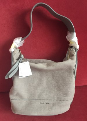 See by Chloé Shoulder Bag grey-gold-colored
