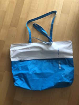 Sports Bag neon blue-white