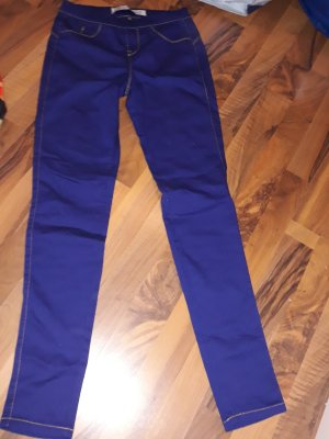 Denim Co. Tregging bleu tissu mixte