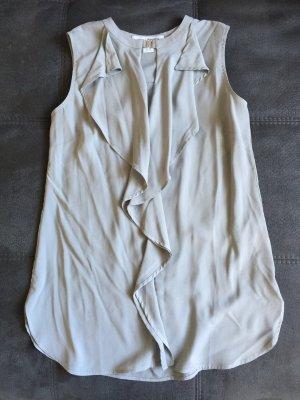 Nagelneue graue,/silberfarbene Bluse