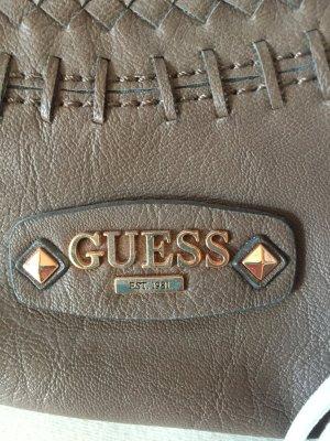 Guess Bolso marrón grisáceo