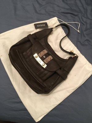 Guess Bolsa marrón-negro-coñac Imitación de cuero