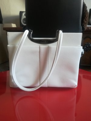 0039 Italy Bag white leather