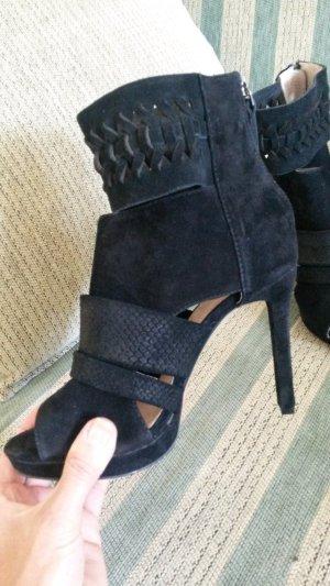 nagelneue High heels sandaletten echtes wildleder!