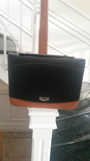 Business Bag brown-black