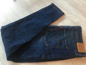 Levi Strauss High Waist Jeans dark blue