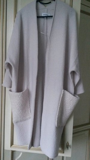 Nicole Farhi Manteau oversized blanc cassé laine