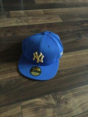 Berretto da baseball blu-giallo-oro