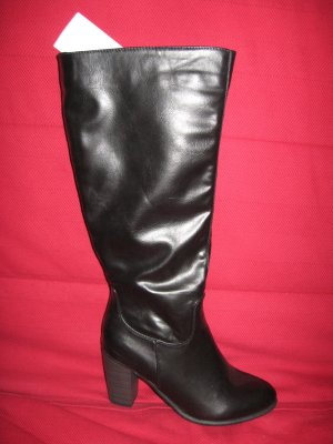 Anna Field High Boots black imitation leather