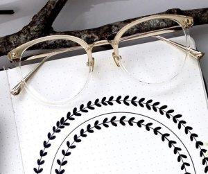 tijn eyewear Occhiale oro