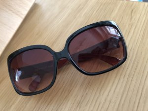 Angular Shaped Sunglasses dark brown