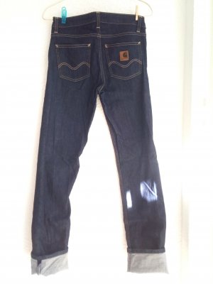 Carhartt Straight Leg Jeans dark blue