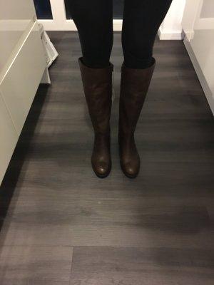 Nagelneue U.S. Polo Assn. Stiefel, braun, Größe 39