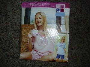 Pyjama slate-gray-blue cotton