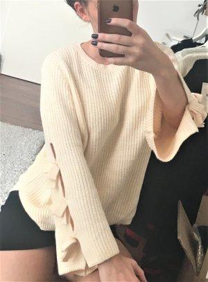 Oversized Sweater multicolored mixture fibre