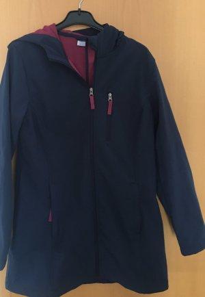 Hooded Coat blue