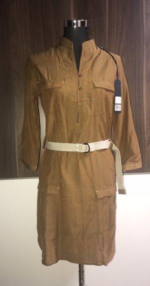 G-Star Raw Vestido de camuflaje color bronce
