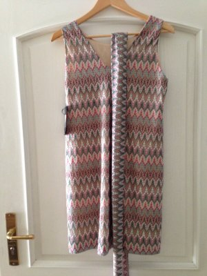 Ana Alcazar Knitted Dress multicolored
