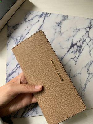 Nagelneues Michael Kors Portemonnaie in beige braun zu verkaufen!