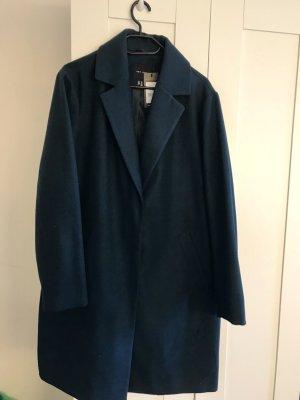 New Look Manteau oversized bleu pétrole