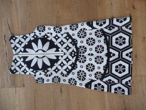 nagelneues Sommerkleid schwarz/weiß