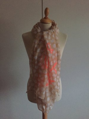 Hallhuber Shoulder Scarf multicolored