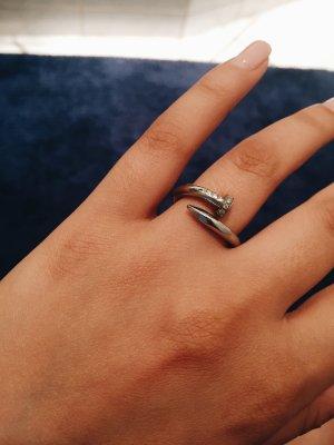 Nail Ring Silber (Größe S/ M )