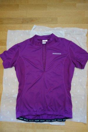 Sports Shirt violet polyester