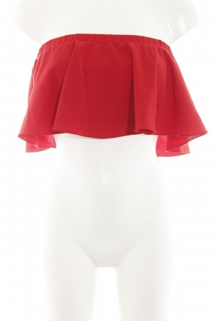 Nakd Bandeau Top brick red elegant