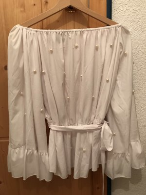 Nakd Wraparound Blouse white