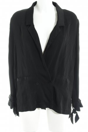 Nakd Veste chemisier noir style simple