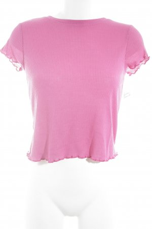 Nakd Cropped Shirt magenta Casual-Look