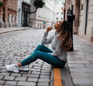 Nakd Fashion Jeans mit Zip unten