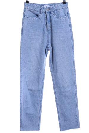 Nakd High Waist Jeans blassblau Jeans-Optik