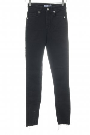 Nakd High Waist Jeans black casual look