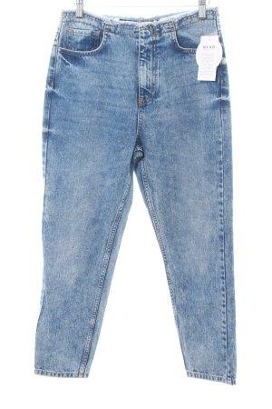 Nakd Jeans carotte bleu style décontracté