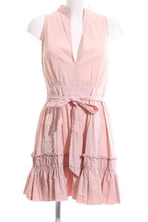 Nakd Kurzarmkleid pink Casual-Look