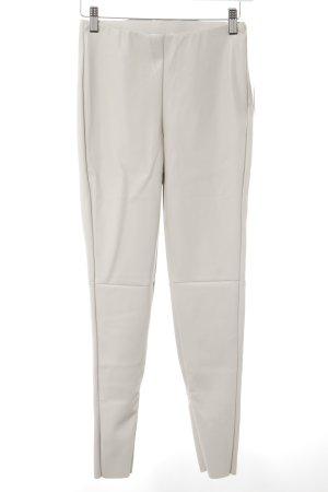 Nakd Pantalón de cuero beige claro look Street-Style