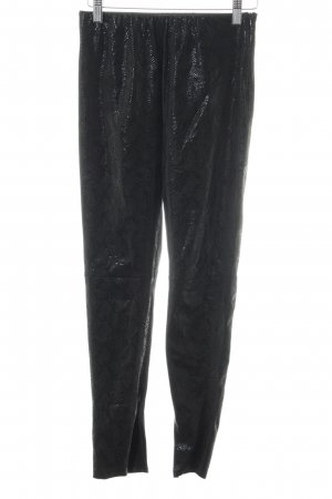 Nakd Leggings schwarz Animalmuster Casual-Look